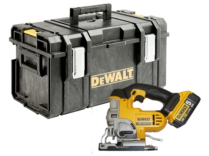 Dewalt dcs331 18 volt xr jigsaw 1 x 50ah li ion battery in ds300 dewalt dcs331 18 volt xr jigsaw 1 x 50ah li ion battery in ds300 kitbox no charger greentooth Choice Image