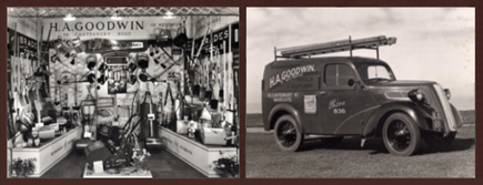 H A Goodwin Trade Stand & 1950